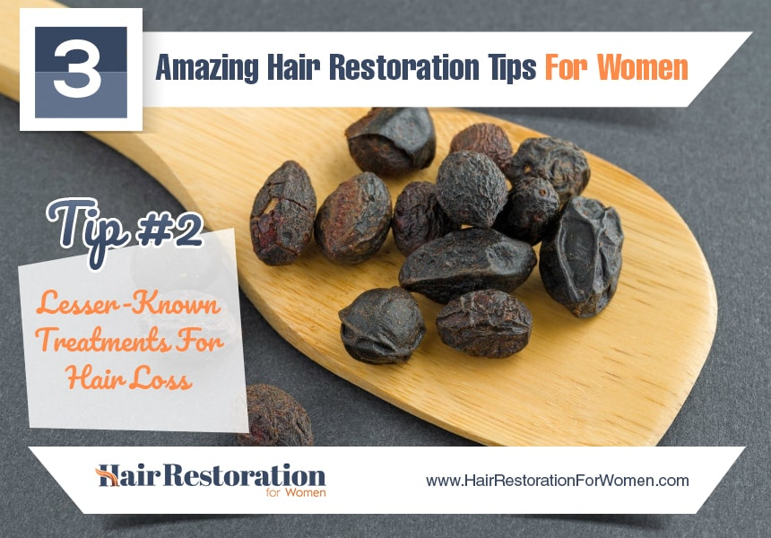 lesser-known treatments for hair loss