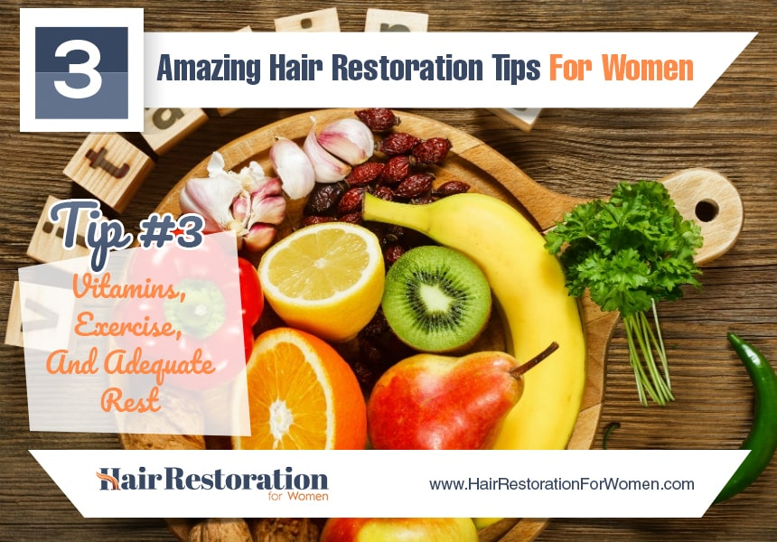 exercise to reduce hair loss